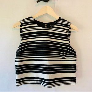 NWT Miss Selfridge Black & White Top 8